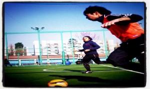 [Soccer] Dribble フットサル今年蹴り納め。今日の相手も若い