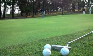 ゴルフコンペ、福井県芦原GCです。何かの大会と重なってるらしく、スタート前の練習グリーンが真剣で怖い。勉強になる。