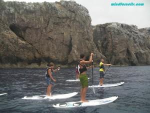 SUP tours Menorca Fornells