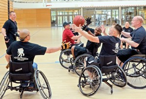 Wheelchair basketball: Wounded warriors roll to recovery